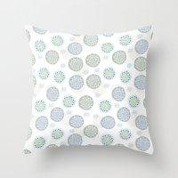 Cacti & Stone Throw Pillow