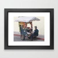 Newspaper, Treats, Cigarettes ? Framed Art Print