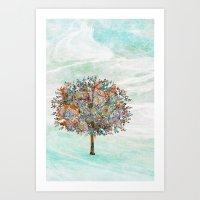 The Tree Of Strength Art Print