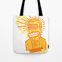 Happy Humbuckerhead Tote Bag