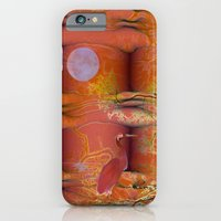 iPhone & iPod Case featuring ABSTRACT - Migratory Cranes by Valerie Anne Kelly