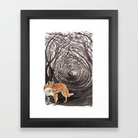 I am a Fox Framed Art Print