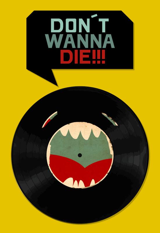 Don´t wanna die!!! Art Print