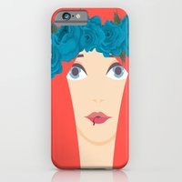 iPhone & iPod Case featuring Winter Rose by momolady