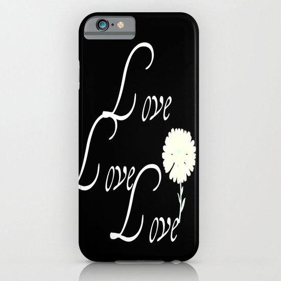 love love love iPhone & iPod Case