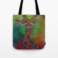 The Tall Giraffe Tote Bag