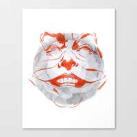 Jacky The Joker Canvas Print