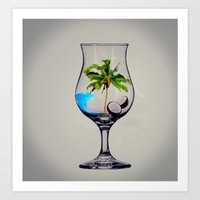 MixMotion: Tropical Drin… Art Print