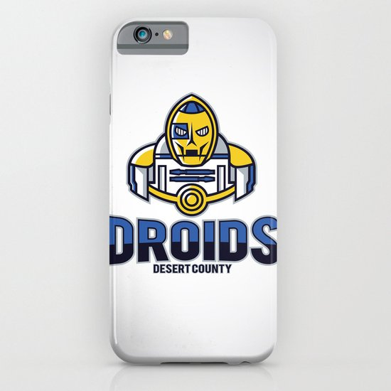 Desert County Droids iPhone & iPod Case