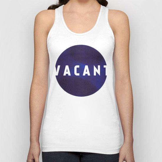 Vacant by Galaxy Eyes & Garima Dhawan Unisex Tank Top