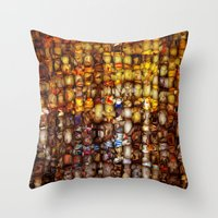 ABSTRACT - Gordion Knot Throw Pillow
