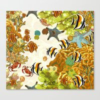 The Great Barrier Reef Canvas Print