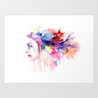 Force That Carries Art Print