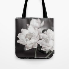 Lovely Water Lily Tote Bag