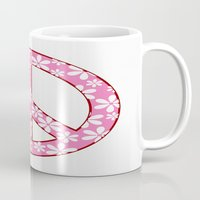 Peace Sign With Flowers … Mug