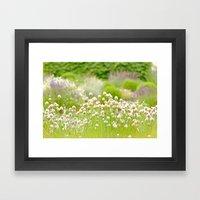The Garden Framed Art Print