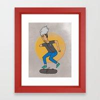 Skater, like no other Framed Art Print