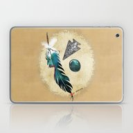 Laptop & iPad Skin featuring Native Reflections 3D Mi… by BohemianBound
