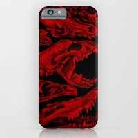 Carnivores in Red iPhone 6 Slim Case