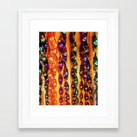 Wind Chimes Framed Art Print