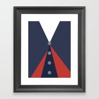 The Twelfth (12th) Doctor - Doctor Who Framed Art Print