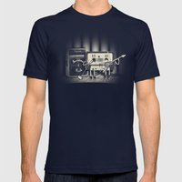 Conjoined Monsters Of Ro… Mens Fitted Tee Navy SMALL