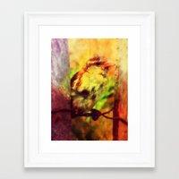 little bird. Framed Art Print
