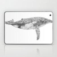 A Humpback Whale Laptop & iPad Skin