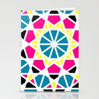 CMYK III Stationery Cards