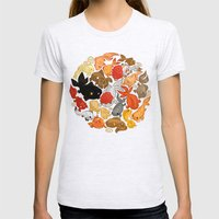 For The Love Of Goldfish Womens Fitted Tee Ash Grey SMALL