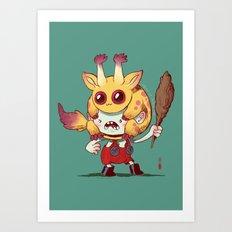 Legend Of Animal Hat: Gr… Art Print