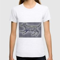 20110825 _2 _DOG _GIMP Womens Fitted Tee Ash Grey SMALL