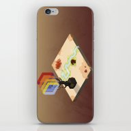 In The Rays Of A Cloudle… iPhone & iPod Skin