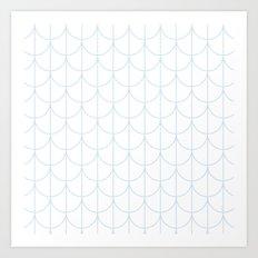 Water Ripples by Friztin Art Print
