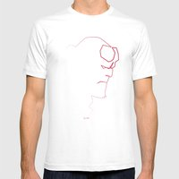 One Line Boy From Hell Mens Fitted Tee White SMALL