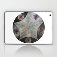 Galactic Pentagram (ANALOG zine) Laptop & iPad Skin
