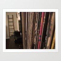 Vinyl Art Print