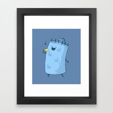Singing In The Shower? Framed Art Print