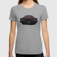 Buick Womens Fitted Tee Athletic Grey SMALL