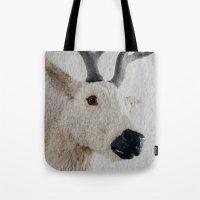 Winter Deer - JUSTART © Tote Bag