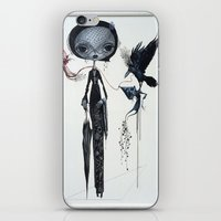 Gothic Kebaya iPhone & iPod Skin