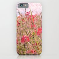 iPhone & iPod Case featuring field of poppies by Françoise Reina