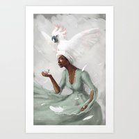 _no Name Art Print