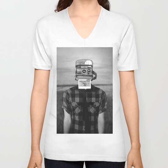 I See What You See V-neck T-shirt