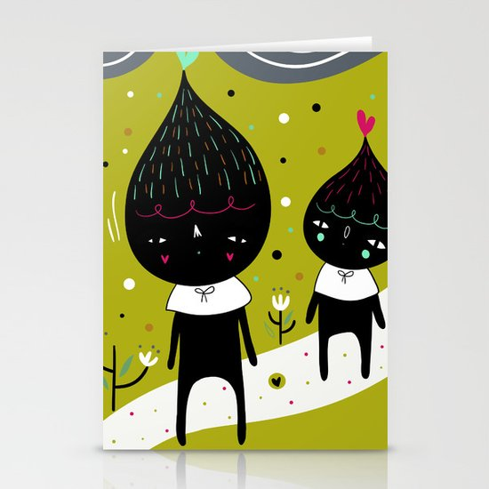 Home is where I'm with YOU Stationery Card