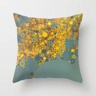 Sunshine And Clouds Throw Pillow