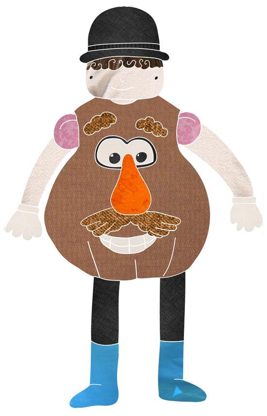 Mr Potato Head Art Print