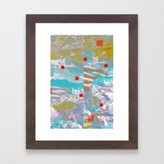 MountainMix 4.4 Framed Art Print