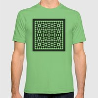 Victorian tile pattern #1 Mens Fitted Tee Grass SMALL