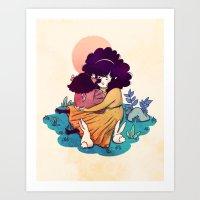 Sisters 5/5 Art Print